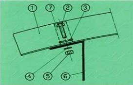 Rögzítés fémszerkezethez
