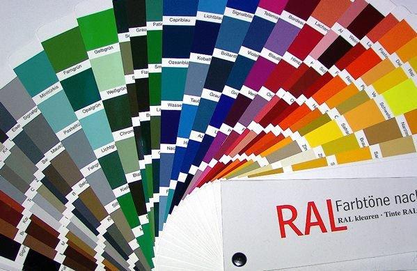 Ipari poliészter lemezek színei - színskála