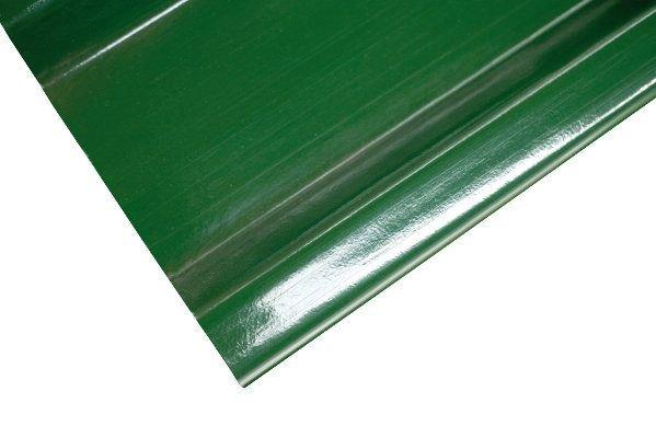 Ipari poliészter lemezek színei - zöld